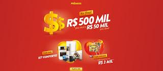 Promoção Sazón 2020 Sorteio 500 Mil Reais