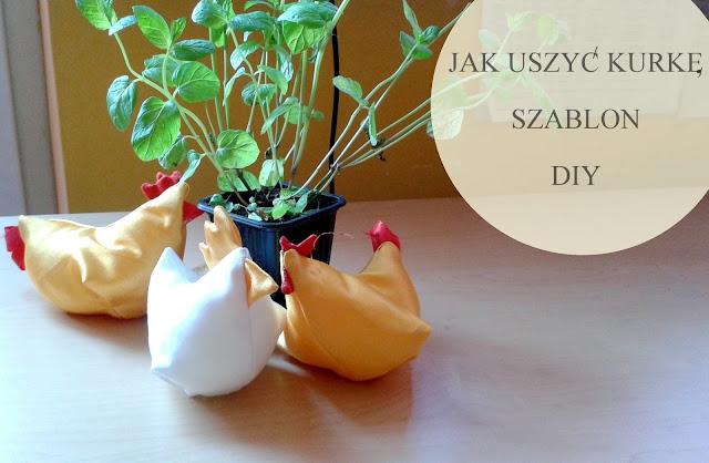 Kurka na święta – DIY, Szablon