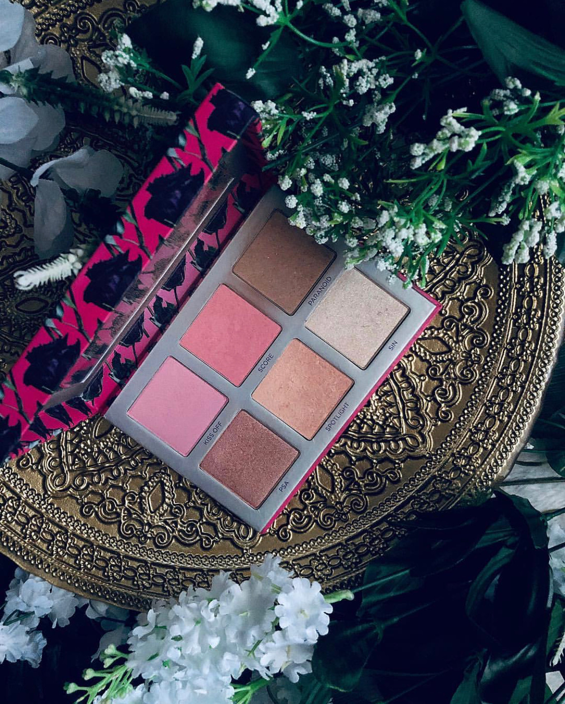 Sin after glow palette Urban Decay