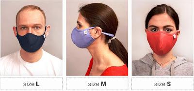 Măștile de protecție reutilizabile de la Dr Fashion