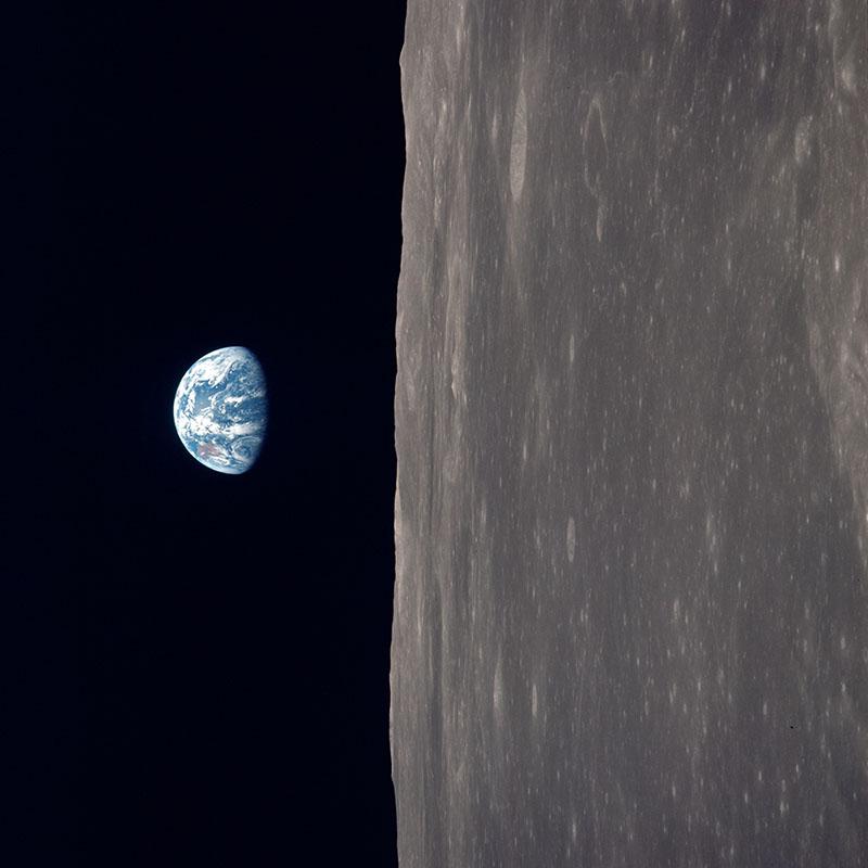 Як виглядає Земля з орбіти Місяця