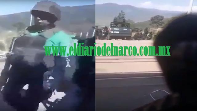"""VIDEO """"Cúbranse cúbranse, aguanten parque"""": Así fue la balacera entre policías y Zetas donde fue abatido el """"Z55"""""""