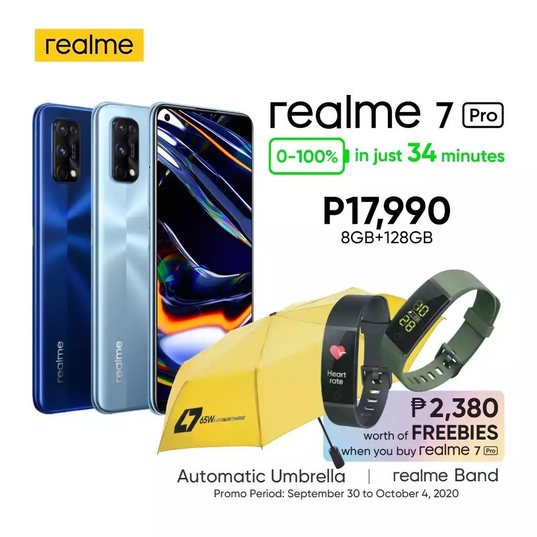 realme 7 Pro Special Offline Offer