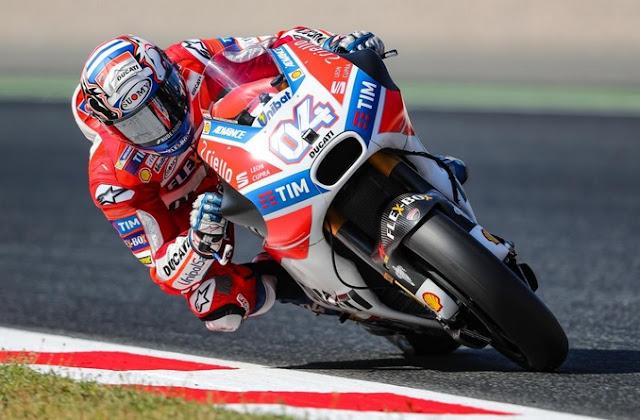 MotoGP: Dovisioso Sukses Juara di Catalunya Dengan Catatan Waktu 44 menit 41,5 detik