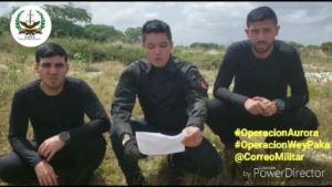 VENEZUELA: Militantes de Operación Aurora emitieron comunicado a través de un video este fin de semana.