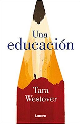 """Portada del libro """"Una educación"""""""