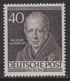 Germany Berlin Wilhelm Von Humboldt