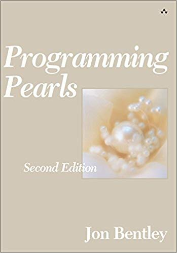 Programming Pearls front cover