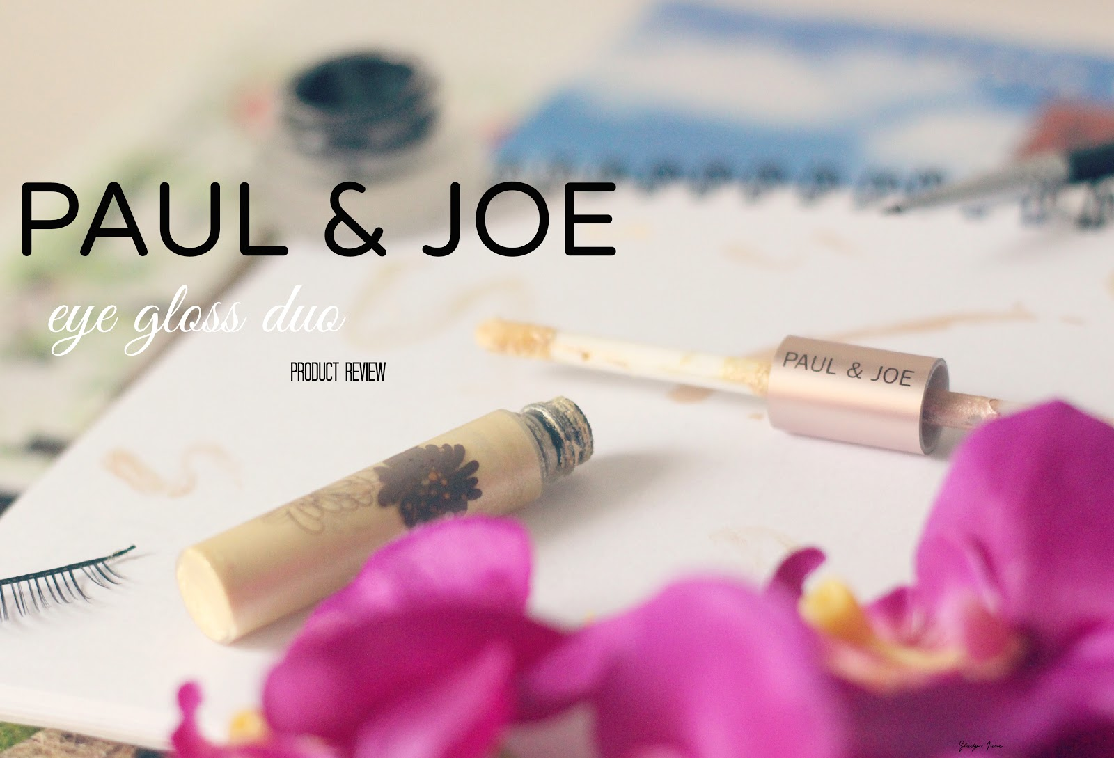 Paul & Joe Eye Gloss Duo Product Review