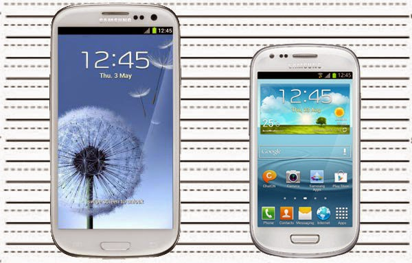 Galaxy S3 and S3 Mini