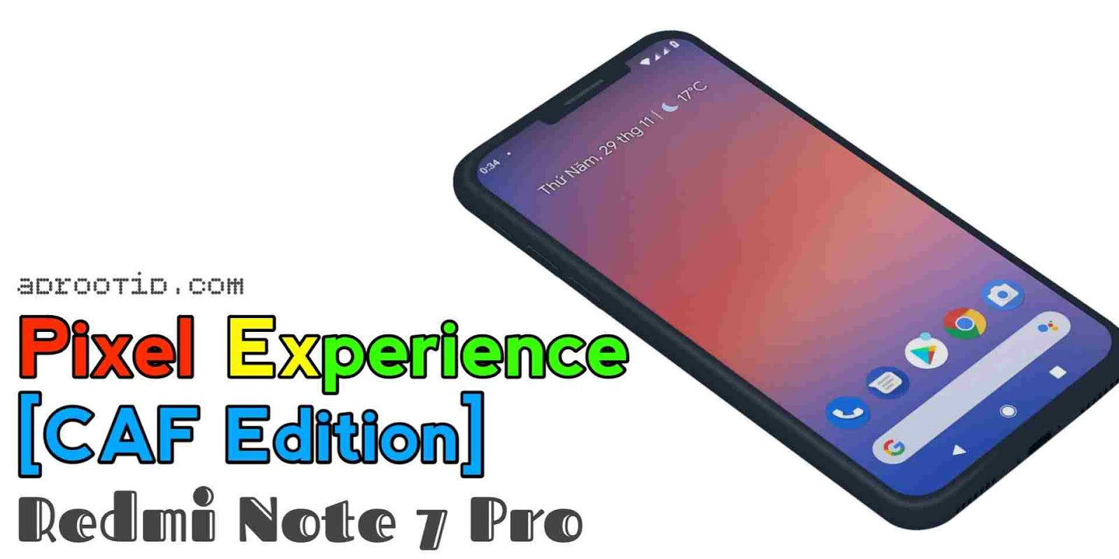 Pixel Experience Redmi Note 7 Pro