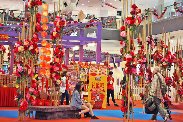Chinese New Year 2020 Blossoms with Fortune at Paradigm Mall Johor Bahru
