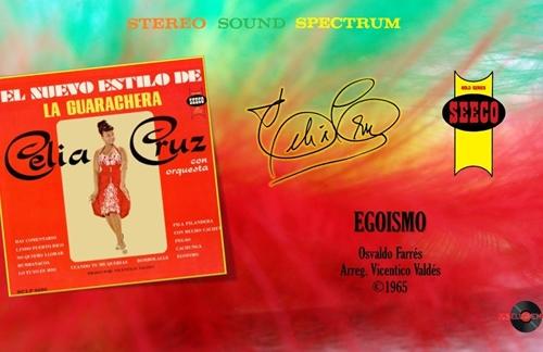 Egoismo | Celia Cruz & La Orquesta De Vicentico Valdes Lyrics