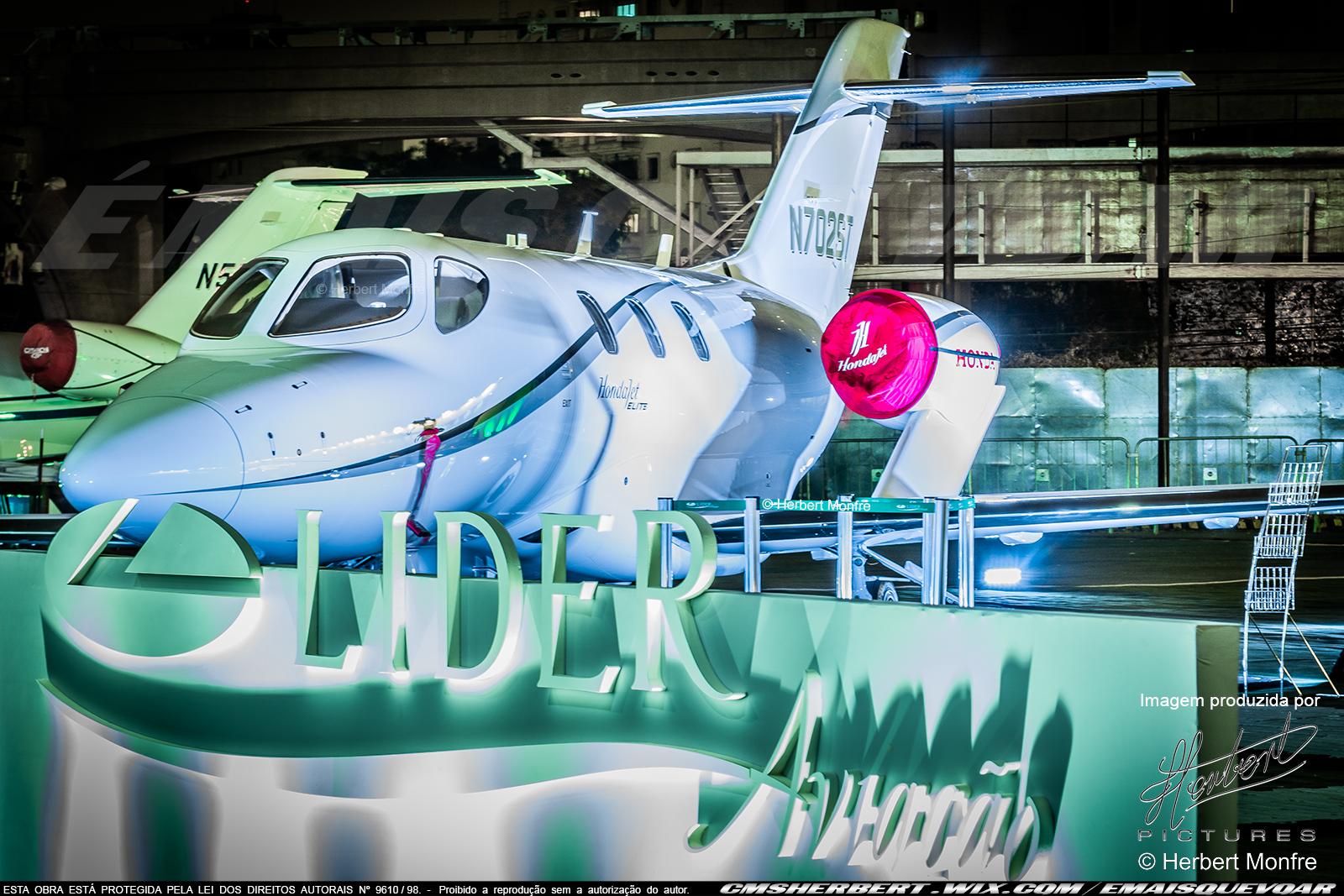 Honda Jet Elite | N702ST | Foto © Herbert Monfre - Contrate o fotógrafo em cmsherbert@hotmail.com | by É MAIS QUE VOAR | LABACE 2019