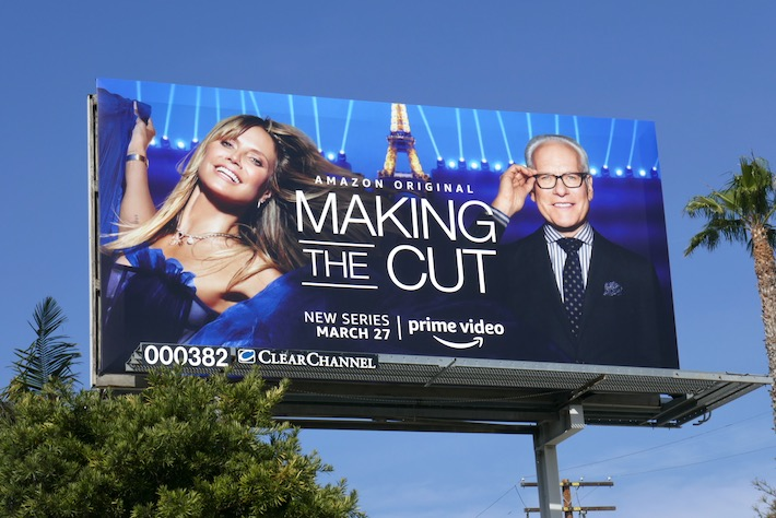 Making the Cut series billboard