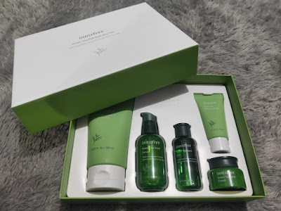 Innisfree Green Tea Seed Hydration Duo Special Set