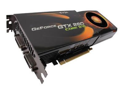 Nvidia GeForce GTX 260フルドライバーのダウンロード