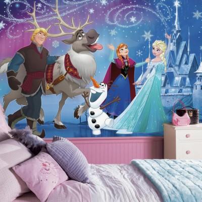 Lasten Tapetti Valokuvatapetti Lapsia Disney Frozen lasten tapetti lastenhuoneeseen