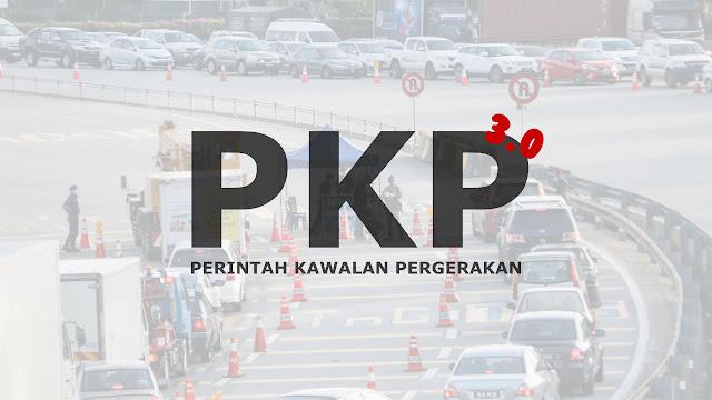 Pelaksanaan PKP Di Seluruh Negara Bermula Sehari Sebelum Hari Raya