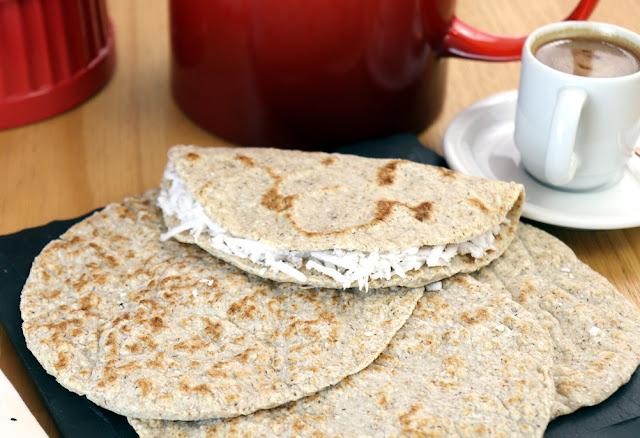 Alternativa saudável a tapioca