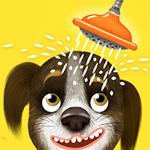 لعبة تنظيف الكلب