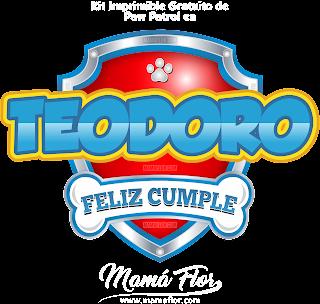 Logo de Paw Patrol: TEODORO