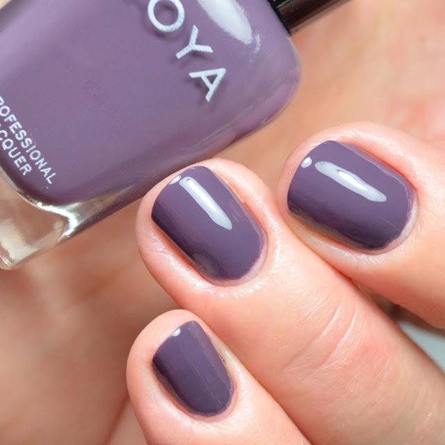 grey creme nail polish swatch