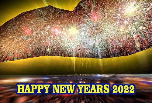 Animasi DP BBM Gambar Ucapan Selamat Tahun Baru 2022 Bergerak Happy New Years
