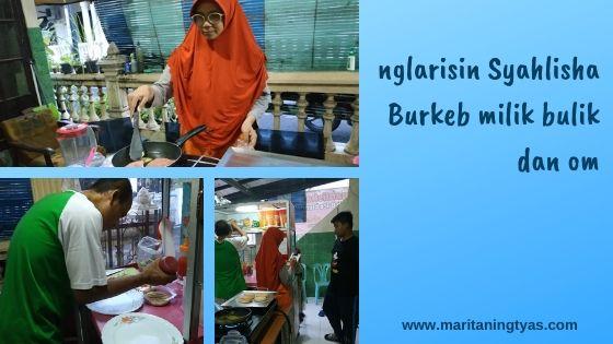 Syahlisha Burkeb Mandasia II Semarang pakai SPOTS