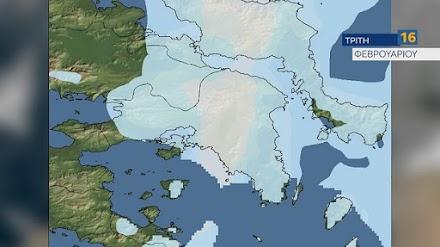 Κλέαρχος Μαρουσάκης : Πυκνές χιονοπτώσεις στην Αττική