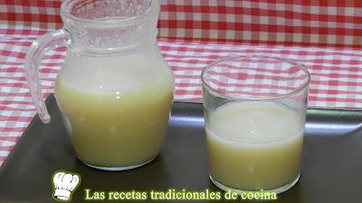 Receta fácil y natural de bebida saborizada de arroz