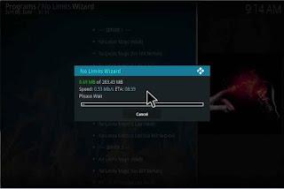 No Limits Magic Kodi Build