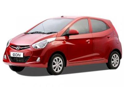 Hyundai EON Hatchback Red Image