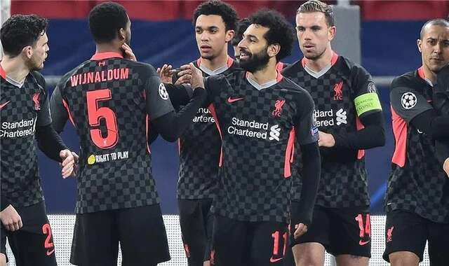 The expected Liverpool formation against Leipzig today in the Champions League