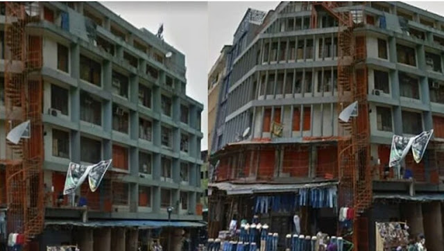 """Alt: = """"photo of six-story FRCN building in Lagos"""""""