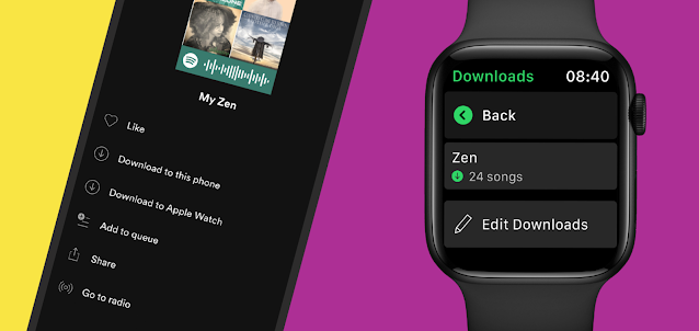 Spotify Adds Music Downloads On Apple Watch