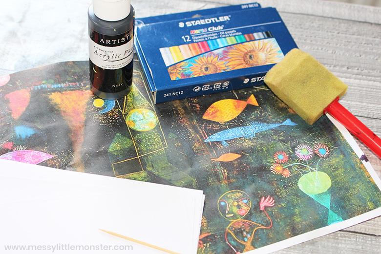 Fish Magic Paul Klee for kids