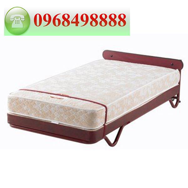 giường phụ khách sạn kiểu đứng cao cấp, nệm dày 20cm, có bánh e giúp di chuyển dễ dàng