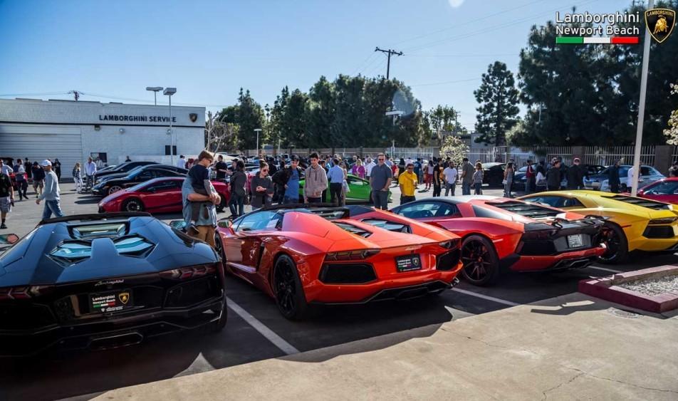 Supercars Lamborghini Newport Beach Supercar Show 2016