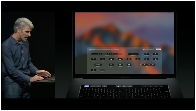 MacBook Pro with 'Touch Bar' Controller, Touch ID, All-New Design Exclusively Launched