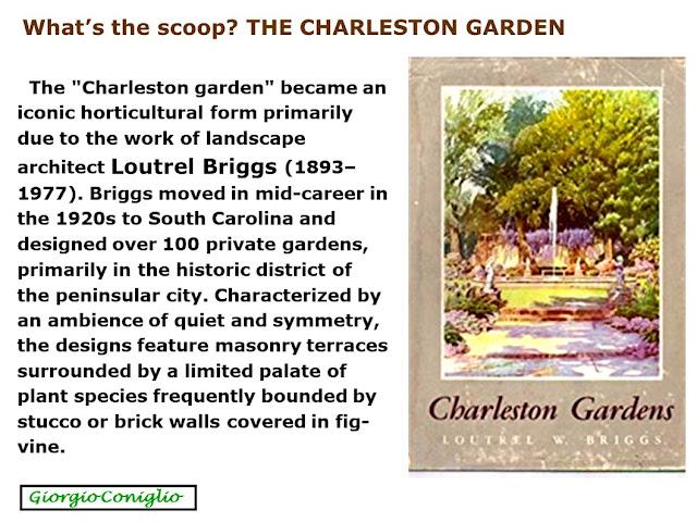 Charleston; South Carolina; gardens
