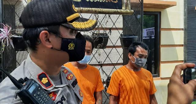 Embat HP di Dashboard Motor, Kang Parkir Pasar mandalika Diamankan Polisi