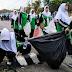 Warga Nahdiyin Biak Bersihkan Kota