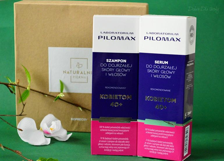 Laboratorium Pilomax zestaw Serum i Szampon do dojrzałej skóry głowy i włosów