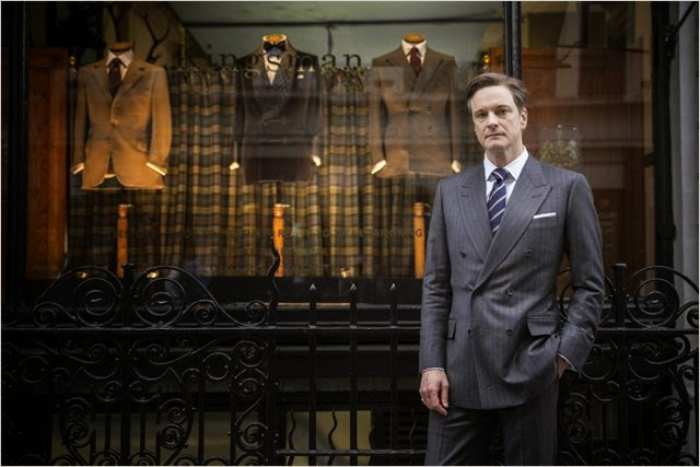 "Colin Firth en ""Kingsman: Servicio Secreto"""