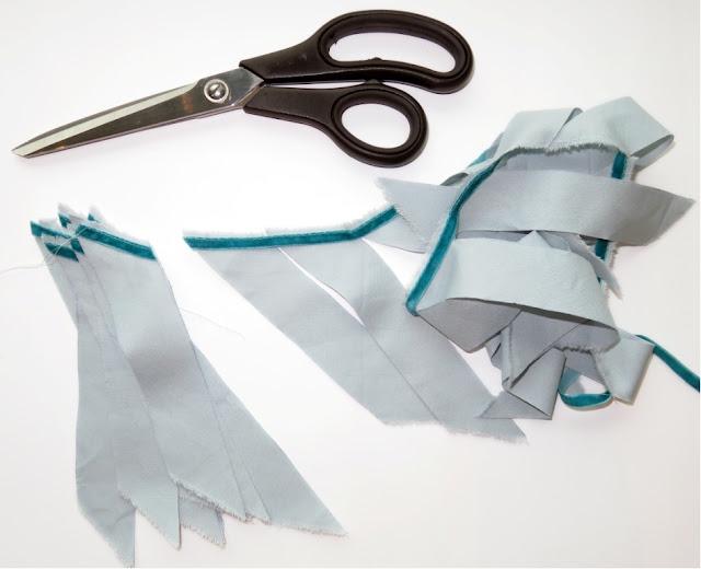 DIY sewing own piping