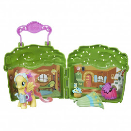 MLP Fluttershy Cottage Fluttershy Brushable Figure