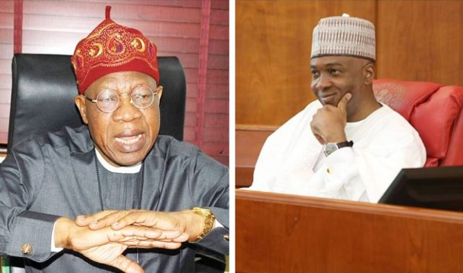 Stop dancing on the graves of victims' of Offa robbery, Lai Mohammed tells Saraki