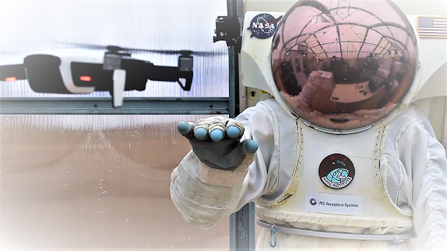 Smart astronaut glove to explore the Moon, Mars and beyond