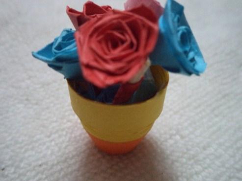 Imprints Handmade How To Make Paper Quill Flower Pot